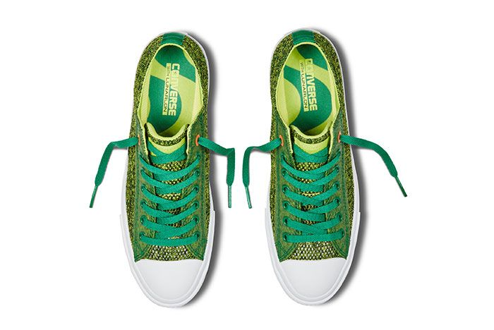 Converse Chuck Taylor All Star Low Open Knit Green 2