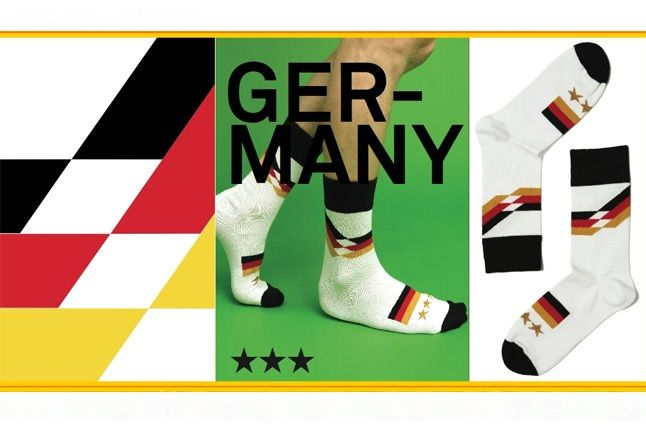 World Cup Socks Wong Wong Germany 1