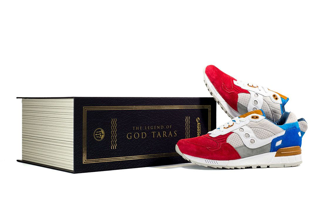 Sneakers76 X Saucony Shadow 5000 The Legend Of God Taras7