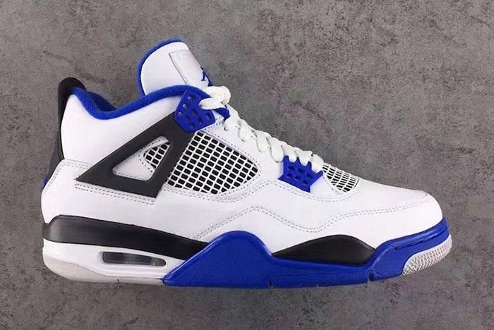 Air Jordan 4 Motorsport Blue 6