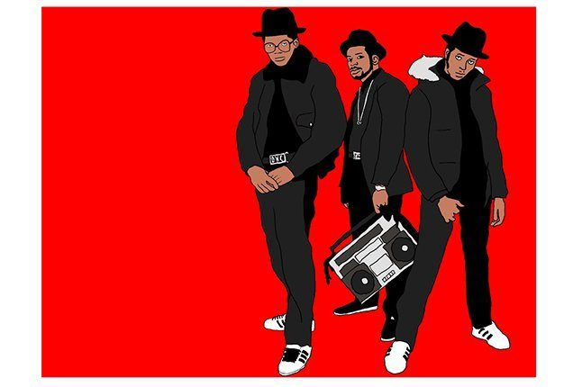 Run Dmc Red