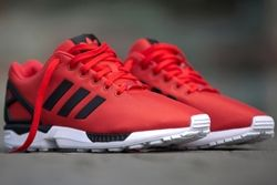 Adidas Zx Flux Poppy Red Thumb