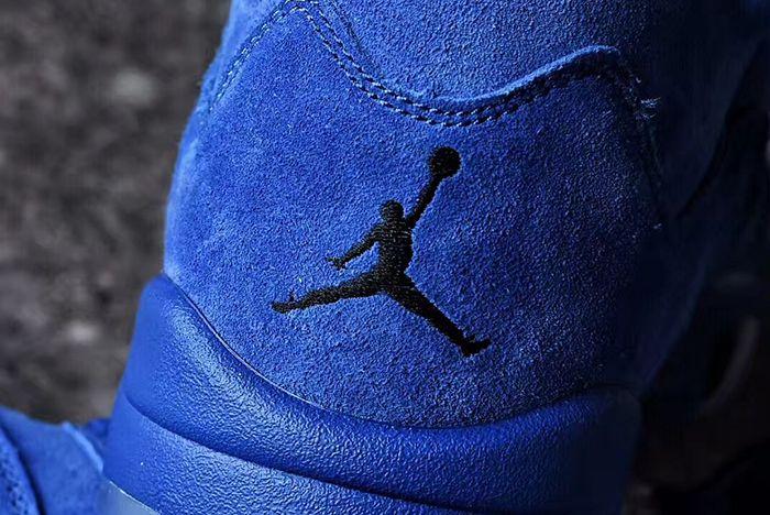 Air Jordan 5 Blue Suede8