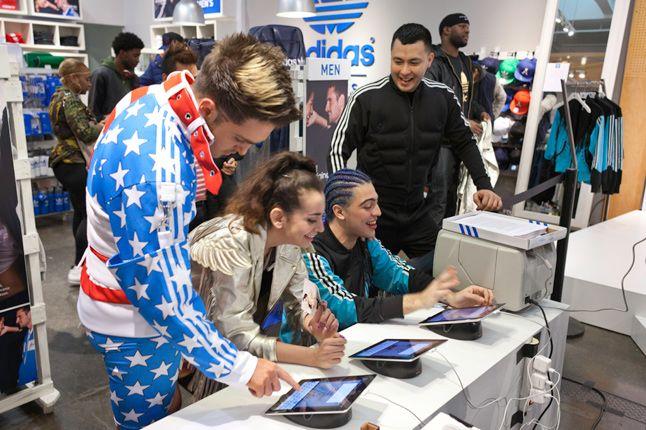 Jeremy Scott In Store Adidas Originals Soho New York 29 1