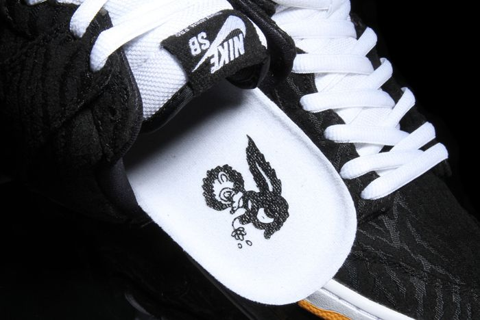 Nike Sb Dunk High Skunk 7