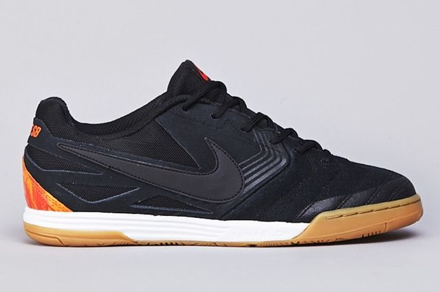 Nike Sb Lunar Gato Wc Black Safety Orange
