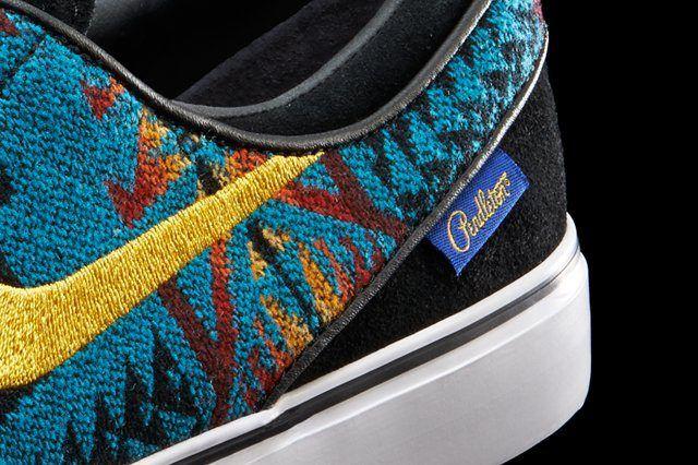 Nike Janoski Pendleton Detail