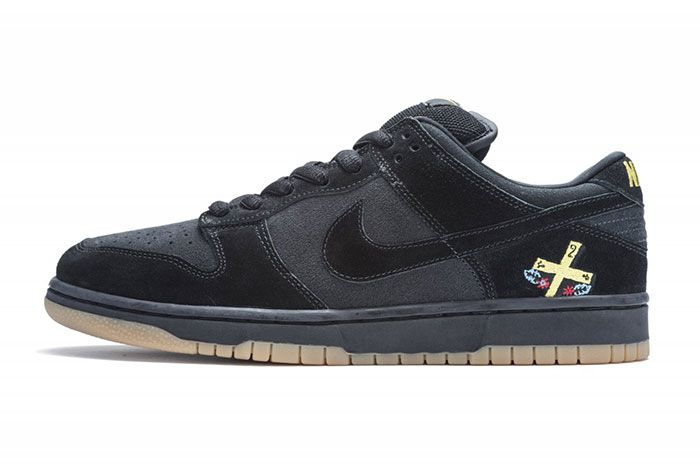 Nike Sb Dunk Low Chocolate Lateral Side