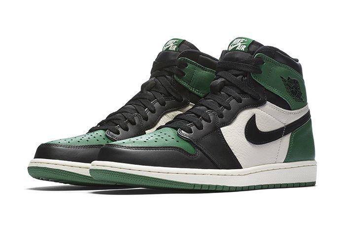 Air Jordan 1 Retro High Og Pine Green Court Purple 1