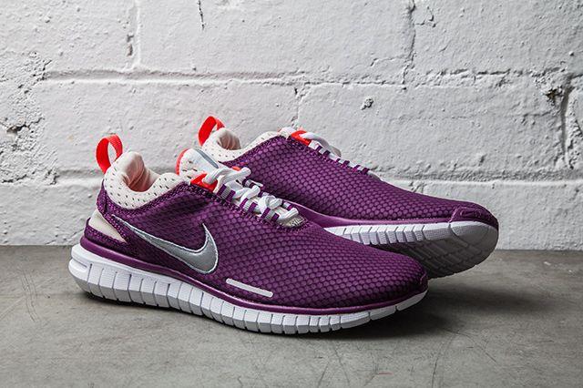 Nike Free Og Breeze Bright Grape Laser Crimson 1