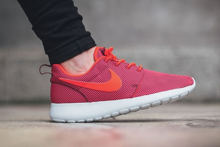 Nike Roshe One Red Orange 2