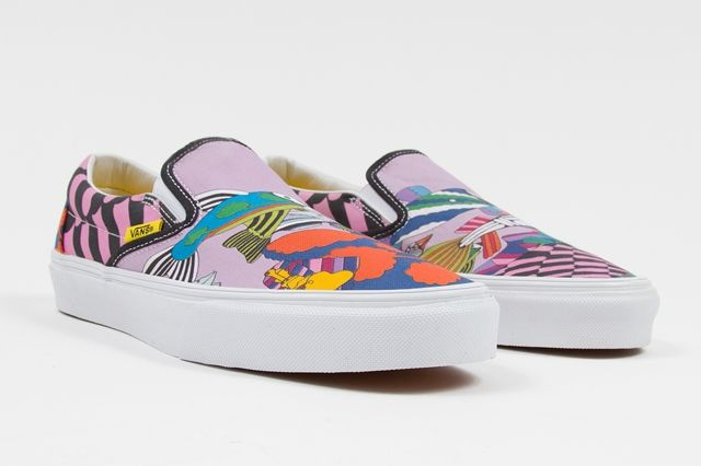 The Beatles Yellow Submarine By Vans Classic Slip On Sea Of Monsters Spring 2014