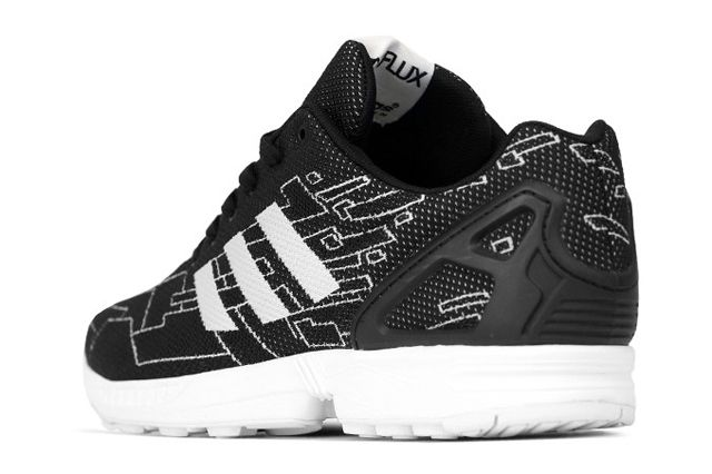 Adidas Originals Zx Flux Black Running White Onix 2