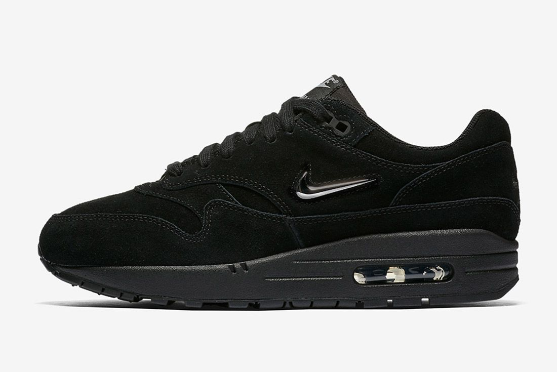 Triple Black Nike Air Max 1 Jewel Sneaker Freaker 6
