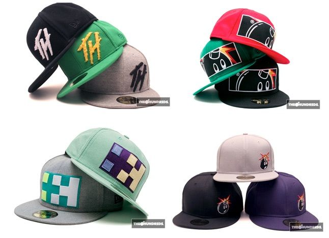 The Hundreds X New Era 1