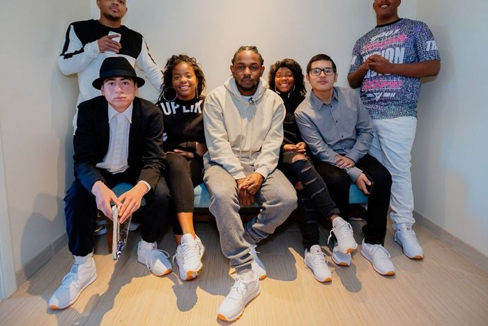 Reebok Kendrick Lamar Grammy 7