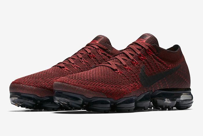 Nike Air Vapor Max Dark Team Red2