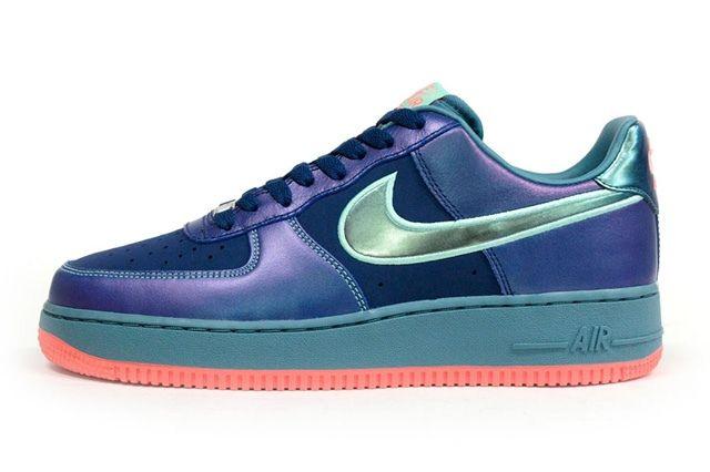 Nike Air Force 1 Blu Sax Orange 4