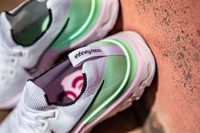 Nike React Infinity Run Lilac Cd4372 100 Sneaker Freaker Hero 2