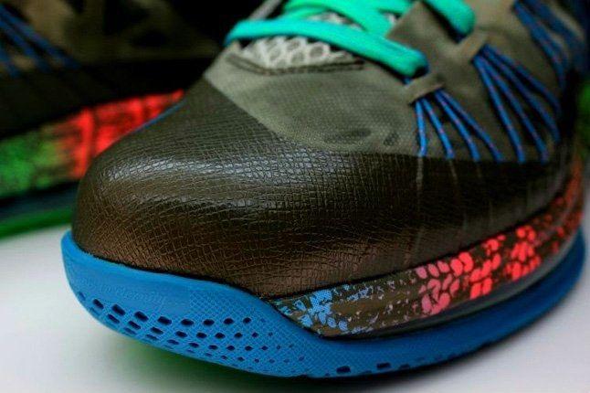 Nike Lebron X Low Tarp Green 8