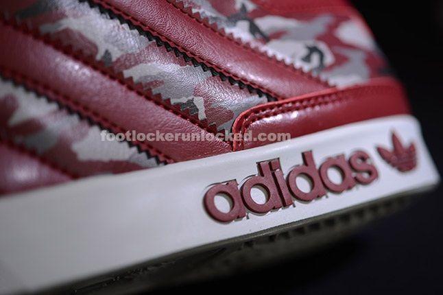 Adidas Top Court Camo Cardinal Texture 1