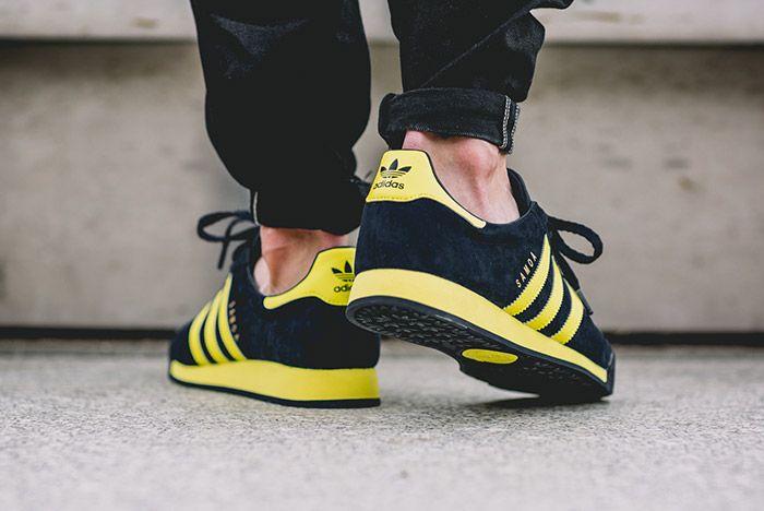 Adidas Samoa Vintage Svenska Blue Yellow 6