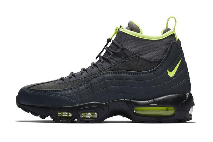Nike Air Max 95 Sneakerboot Black Volt 1