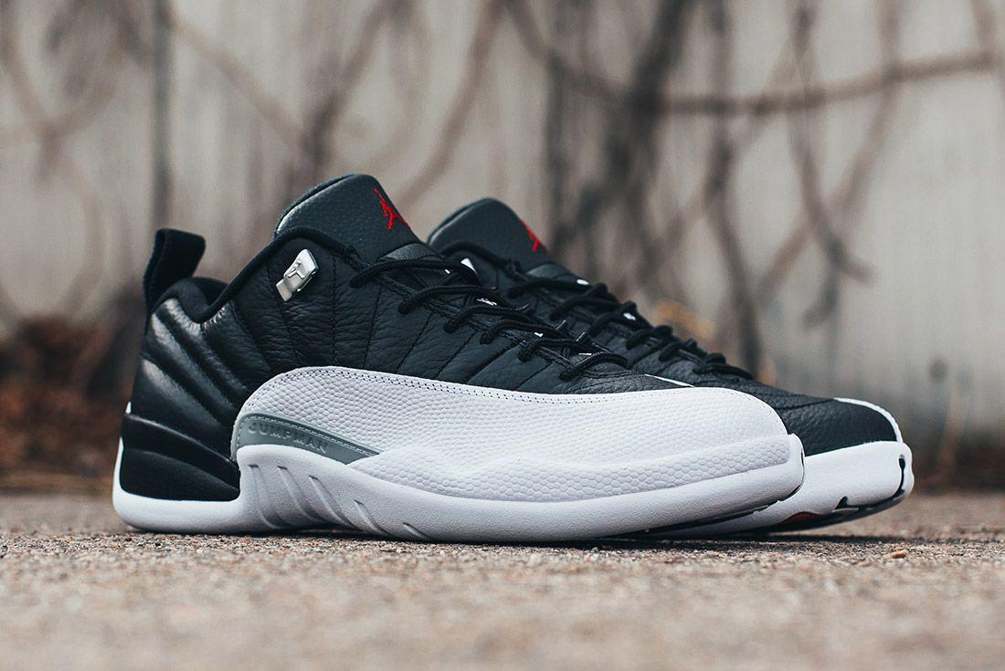 Air Jordan 12 Low Playoffs 4