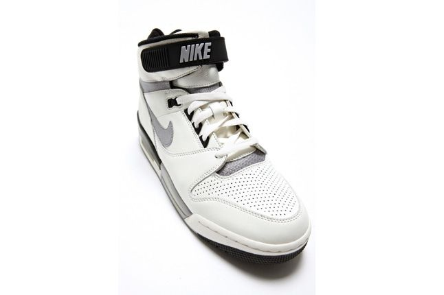 Nike Air Revolution White Grey Toe Profile 1