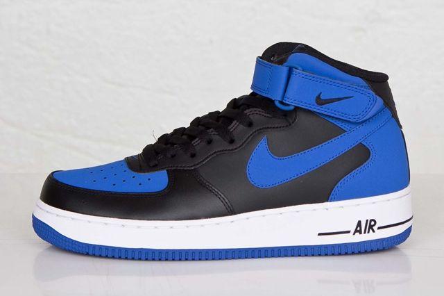 Nike Af1 Mid Royal 4
