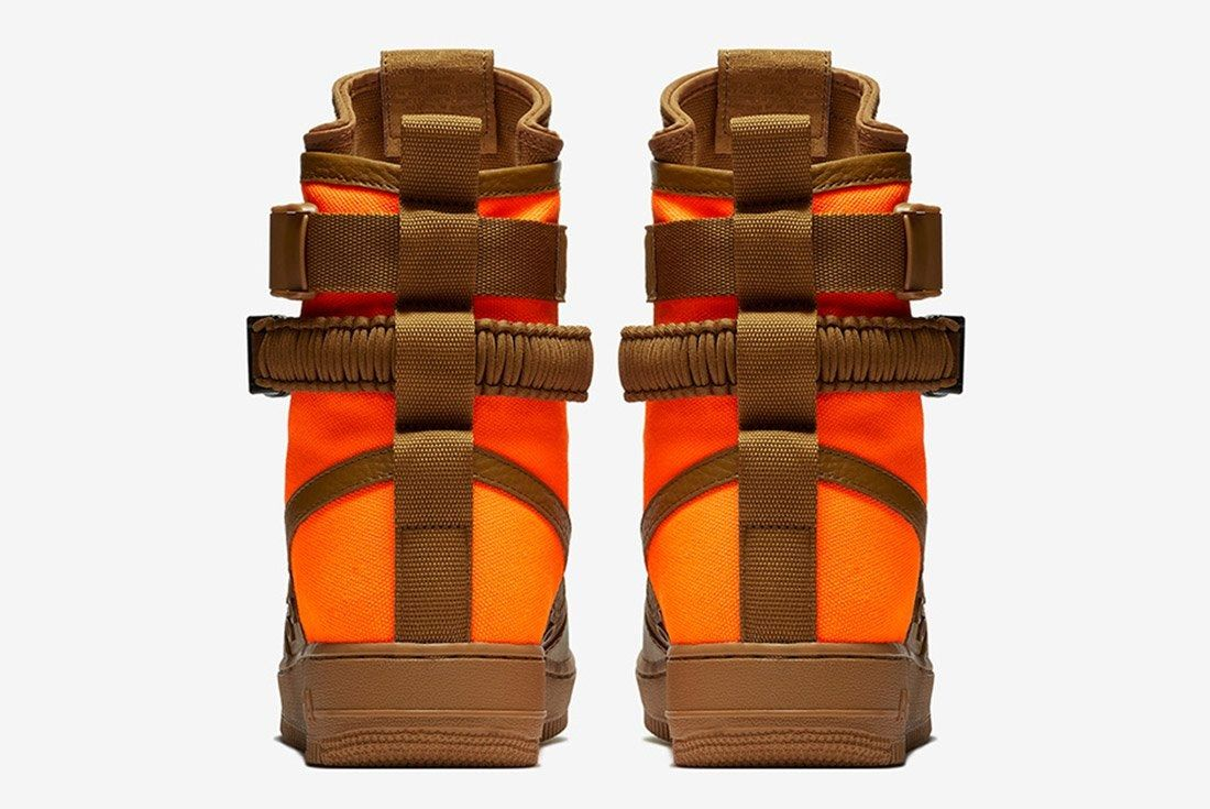 Nike Sf Air Force 1 Desert Ochre Brown Orange 2