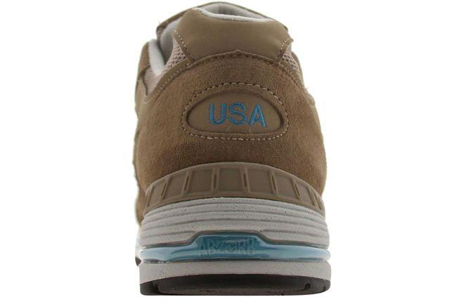 New Balance 991 Pys Exclusive Brown Heel 2
