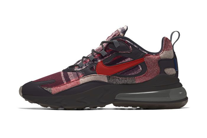 Nike Air Max 270 React Pendleton By You Release Date 03
