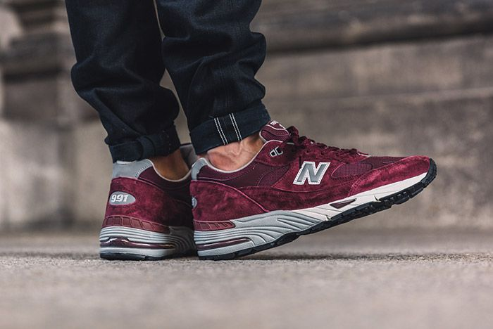 New Balance 991 Made In England Burgundy 2