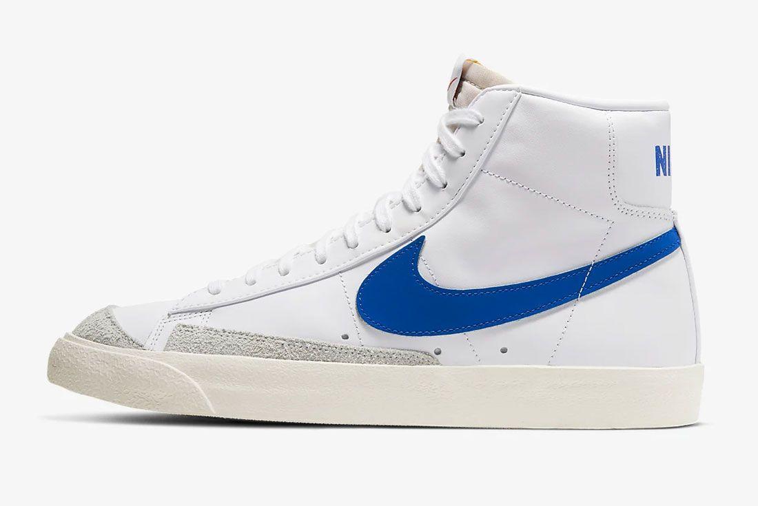 Nike Blazer Mid Blue Left