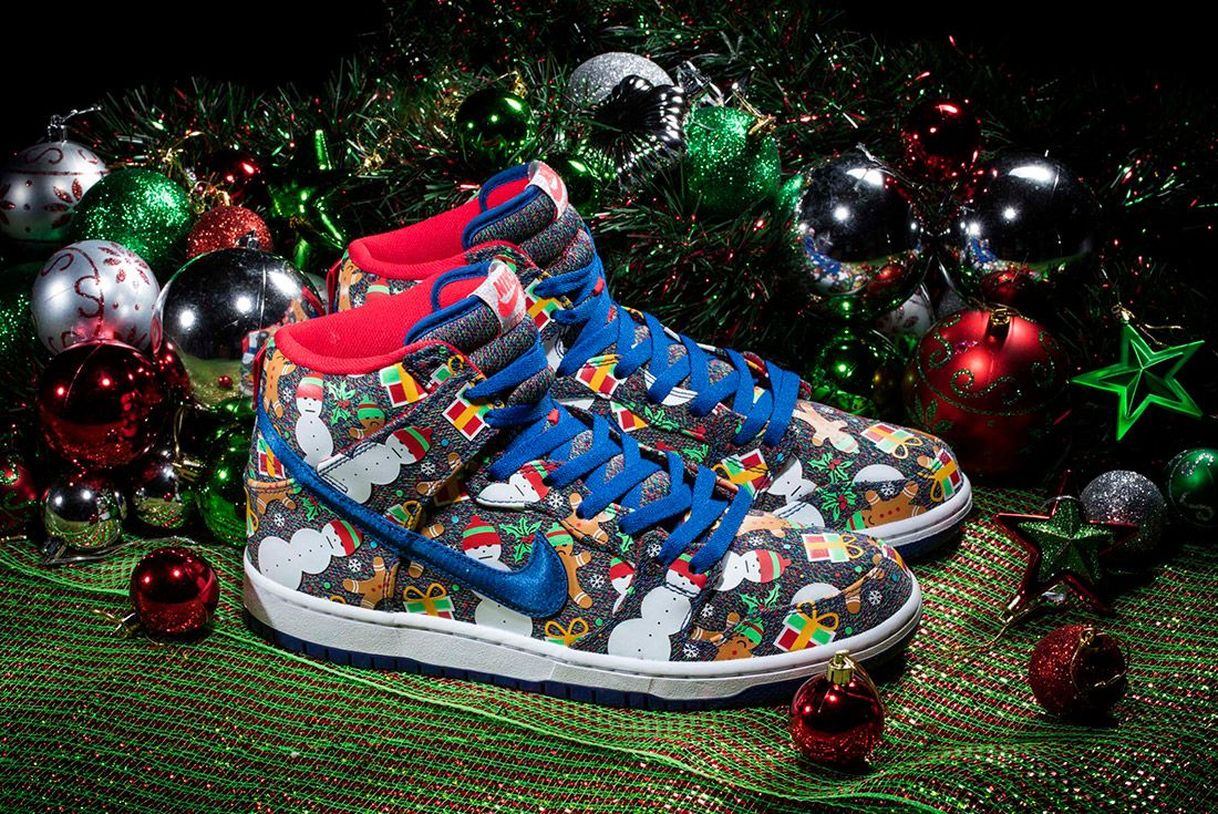 Concepts X Nike Sb Ugly Sweater Dunk 2017 Sneaker Freaker 6