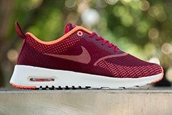 Nike Air Max Thea Jacquard Fuschia Mango Thumb