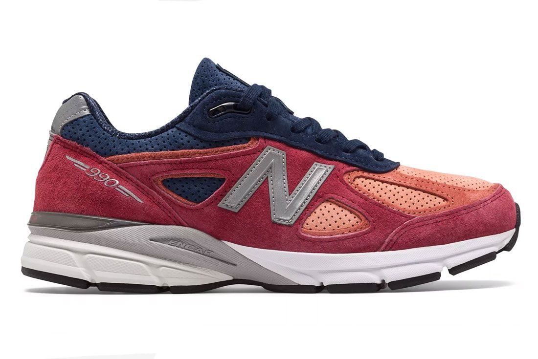 New Balance 990V4 Made In Usa Copper Pigment Side