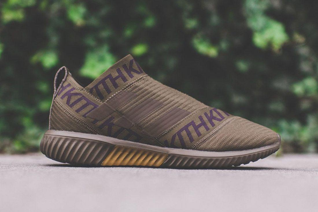 Kith Adidas Nemeziz Brown 10