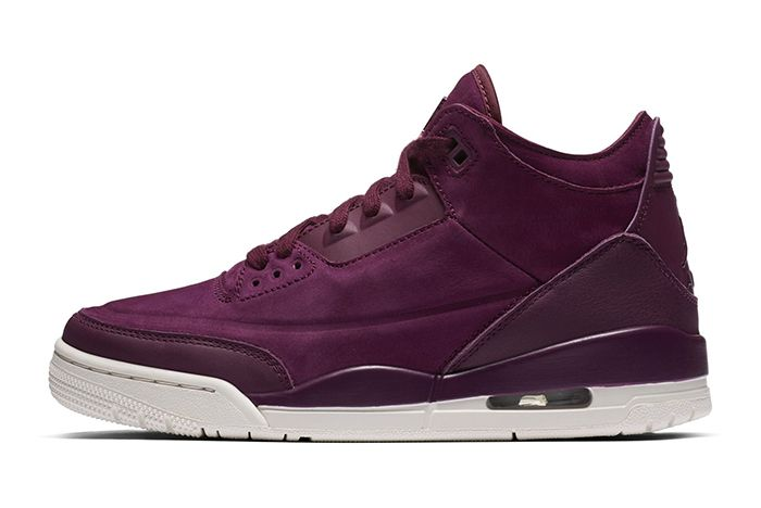 Air Jordan 3 Wmns Bordeaux Official 1