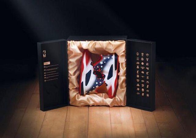 Nba Commemorative Sneaker 1