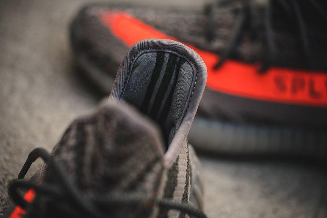 Adidas Yeezy V2 350 Beluga Grey Solar Red 18
