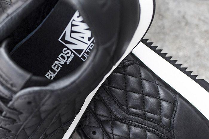 Blends Vans Vault Quilted Leather Runner 4