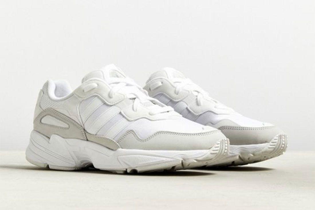 Adidas Yung 1 White Pair Side Shot