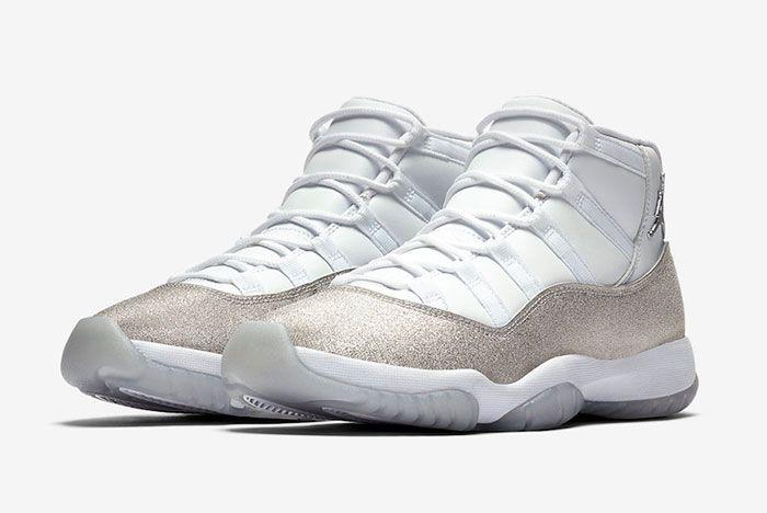 Air Jordan 11 Metallic Silver Toe