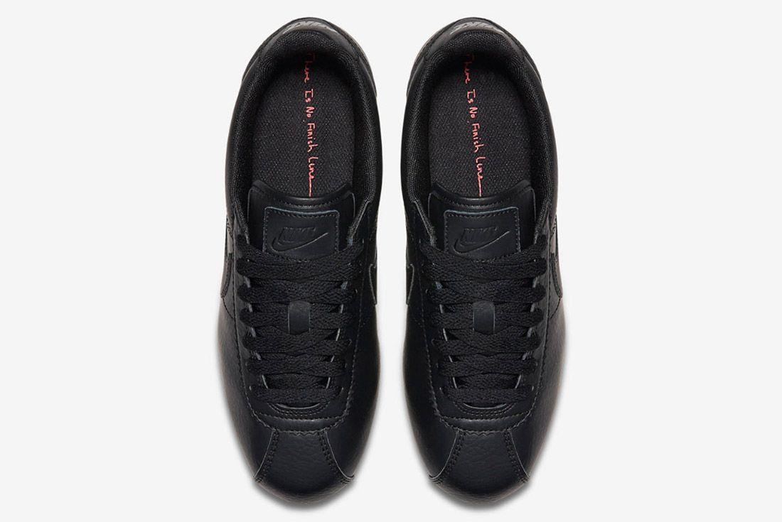Nike Cortez Premium Womens Beautiful Powerful Black 2