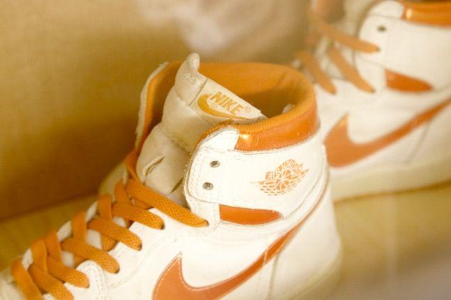 Air Jordan 1 Orange White 1