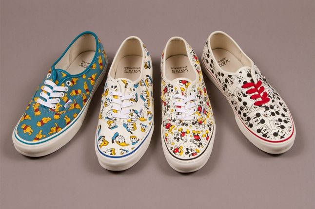 Vault By Vans X Disney Og Authentic Lx Adults Fall 2013 1
