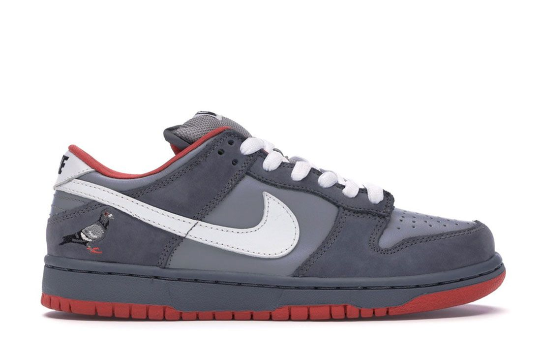 Nike Sb Low Dunk Nyc Poigeon Lateral Side Shot