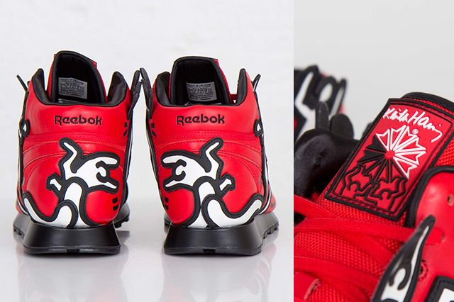 Keith Haring Reebok Classic Leather Mid Lux 1